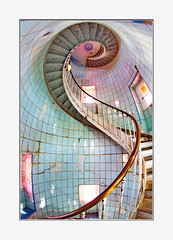 coubre1 (Slvgr87) Tags: phare lacoubre pharesetbalises 17 charentemaritime escaliers marches fisheyes