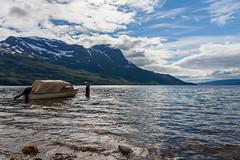 A fjord near Narvik (Antti Tassberg) Tags: meri kesä landscape norja travel scandinavia hdr vene narvik fjord vuono boat norge norway sea nordland no