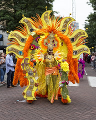 Zomercarnaval 2017 (R. Engelsman) Tags: zomercarnaval rotterdamunlimited rotterdam straatparade parade zomer carnaval festival 010 2017 costume nederland netherlands nl people performer