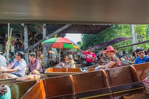 marche fottant damnoen saduak - thailande 35