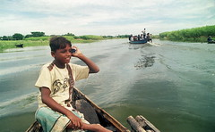 digital bangladesh (bimboo.babul) Tags: people profession boatman children river monsoon bangladesh
