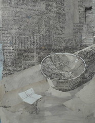Today's Collage (ART NAHPRO) Tags: collage still life bowl ceramic pauljackson wing gallery