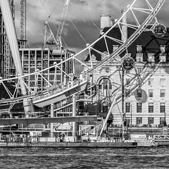 London   |   Eye Shadow (JB_1984) Tags: londoneye ferriswheel countyhall river thames riverthames shadow blackandwhite bw mono squareformat embankment cityofwestminster london england uk unitedkingdom nikon d500 nikond500