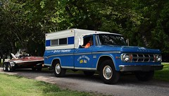 1969 Dodge Camper Special pickup truck (Custom_Cab) Tags: 1969 dodge pickup truck custom d200 d300 d 200 300 camper special miss british columbia boat speedboat speed flying scot marine 259 racing race canopy blue