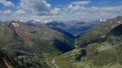 mountain view (friedrichfrank1966) Tags: mountain hiking trekking berge alpen alps austria sölden clouds view bergblick tal schlucht canon schatten shadows sunshine sun sonne sonnenschein handyshot samsung s6edge