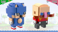 BrickHeadz: Sonic & Dr. Eggman (Unijob) Tags: lego leg godt bricks brickheadz brick heads brickheads sonic sega hedgehog dr eggman doctor robotnik ivo egg man walrus genesis mega drive saturn dreamcast service games videogames game green hill generations mania igel toys render blender mecabricks digital designer rendering classic 90s collectible collectibles funko pop funkopop klocki stein moustache shoes blue spikes slope curved tan mustache goggles glasses bald scientist human villain nose baldy mcnosehair lost world unijob lindo moc own creation