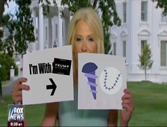 Sign Language (doctor075) Tags: kellyanneconway donaldjtrump donaldjdrumpf gop republicans republicanparty teaparty humourparodysatirecomedypoliticsrepublicanteapartygopfoxnews whitehouse foxnews