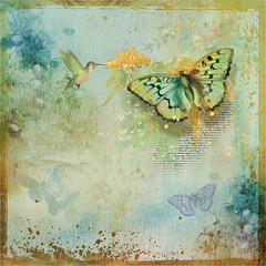 Write it on your heart that every day is the best day in the year. - (Ralph Waldo Emerson) (boeckli) Tags: bunt farbig bright textures texturen painterly colourful rahmen pastel pastell texture butterflies schmetterlinge lynneanzelc ralphwaldoemerson photoborder square
