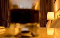 Nice reflection (husiengha) Tags: room hotel light night bed yellow beautiful nice great reflection intercontinental glass nikon d5500 bokeh depth field coffee color