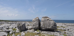 Three Glacial erratics. (mcgrath.dominic) Tags: karstlandscape glacialerratics limestone theburren coclare