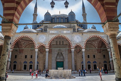 Selimiye Mosque, Edirne, Turkey (Feng Wei Photography) Tags: islamicculture outdoors traveldestinations ottoman islam spirituality cute eastasia landmark selimiyemosque medieval colorimage islamic placeofworship children turkeymiddleeast religion mosque famousplace unesco edirne beautiful travel europe ancient history architecture horizontal turkishculture tourism tradition turkish turkey tr