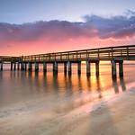 The new fishing pier at Smyrna Dunes Park. thumbnail