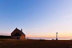 chapelle et calvaire du Crouesty (pigosse) Tags: chapelle croix calvaire morbihan golf