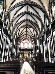 Saint Mary's Cathedral (@Mark_Eveleigh) Tags: asia asian burma burmese east indochina myanmar south yangon saintmaryscathedral cathedral immaculate conception church colonial