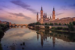 Tarde de verano en Zaragoza