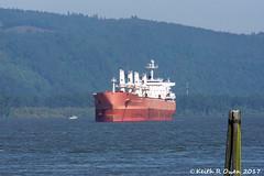 """Jewel of Nippon"" (youngwarrior) Tags: ship freighter kalama washington"