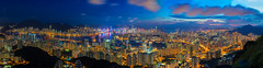 BEE_0152_Panorama1 (Bee-Teerapol) Tags: kong hong skyline building night victoria district city office urban china harbor business scene downtown harbour modern cityscape asia asian architecture landmark metropolis travel financial chinese panorama beautiful background view landscape tower skyscraper port colorful hongkong famous blue beauty sky light island town economy finance twilight shopping center mountain bay