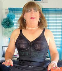 Bra (Trixy Deans) Tags: crossdresser cd cute crossdressing crossdress classy cocktaildress corset xdresser sexy sexytransvestite sexyheels sexylegs sexyblonde tv tgirl transvestite transgendered transsexual trixydeans tgirls transvesite shemale littleblackdress lbd