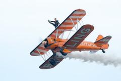 Breitling Biplane - Wing Walker (Simon Stobart) Tags: breitling wing walker biplane sunderland airshow northeast england