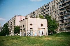 Проспект Академіка (slo:motion) Tags: київ україна ukraine windows window architecture graph graffiti tags tag balconies balcony rmnk
