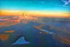 Dream Visions Of Aerial Joy (amarilloladi) Tags: sky clouds sunset processed photoart hss sliderssunday aerialview landscape shadows sunlight oregon pacificnorthwest mthood