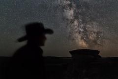 Ranchlands in Alberta (Warren_F) Tags: cowboy rancher milkyway