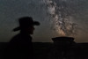 Milky Way on the Range (Warren_F) Tags: cowboy rancher milkyway
