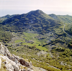 Lovcen (HolmisticWalker) Tags: kodakportra400 6x6 square yashicamat124g lovcen montenegro mountains np natural park may