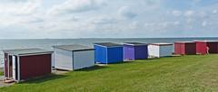 Coastline (Sam H. Maas) Tags: totale deich strand strandhütten wattenmeer gras wasser nationalpark nordsee northsee flut tide outdoor nature deutschland nordfriesland sea water