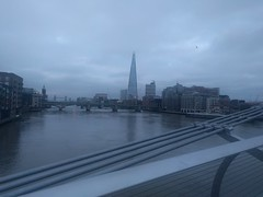 Thames, London, at Sunrise (dbaron) Tags: unitedkingdom uk england london river thames riverthames water run geotagged