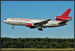 N612AX OAI - Omni Air Interbnational (Bob Garrard) Tags: thai airways international hstmb 10 tanker air carrier northwest airlines n239nw mcdonnell douglas dc1030 dc10 n612ax oai omni interbnationa bwi kbwi