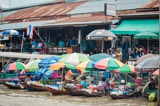marché flottant amphawa - thailande 25