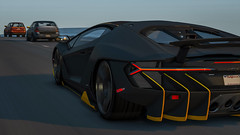Centenario (imkairu) Tags: gta gta5 grand theft auto lamborghini centenario sunset car driving natural vision photorealistic california los angeles