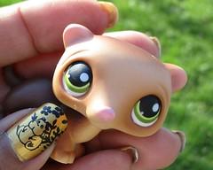 Ghibli Nails (flores272) Tags: ghiblinails nailstamping nailart nails nailpolish littlestpetshop lps outdoors toys toy