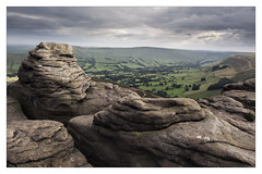 One for another day (Dave Fieldhouse Photography) Tags: peakdistrict derbyshire derbyshirelife summer sunset clouds cloudy overcast ringingroger kinderscout edale mamtor nationalpark mountain hill rocks gritstone valley landscape outdoors wwwdavefieldhousephotographycom fuji fujifilm fujixt2