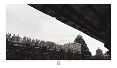 Under the shade (krishartsphotography) Tags: krishnansrinivasan krishnan srinivasan krish arts photography fineart monochrome ancient architecture temple darasuram airavateswara prahar praharam vimana kumbakonam tamilnadu india