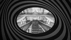 Psychedelia (Andrew G Robertson) Tags: va pink floyd london kensington museum exhibition vertigo stairs psychedelia ufo club 60s spiral victoria albert steps