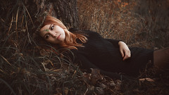 *** (zeldabylinovitch) Tags: autumn fairytale fairy outdoor outdoorportrait girl portrait manuallens helios442 sonya580