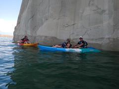 2017-07-20 Lone Rock Canyon (Lake Powell Hidden Canyon Kayak) Tags: kayaking arizona southwest kayakinglakepowell lakepowellkayak paddling hiddencanyonkayak hiddencanyon slotcanyon kayak lakepowell glencanyon page utah glencanyonnationalrecreationarea watersport guidedtour kayakingtour seakayakingtour seakayakinglakepowell arizonahiking arizonakayaking utahhiking utahkayaking recreationarea nationalmonument coloradoriver halfdaytrip lonerockcanyon lakepowellkayaktours boattourlakepowell campingonlakepowellcanyonkayakaz lonerock