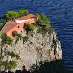 Villa Malaparte (1937), cap Massullo, Capri, Campanie, Italie. thumbnail