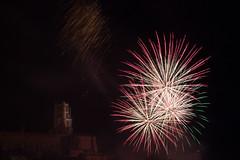 Bastille Day (Jade Boumaza) Tags: 14juillet albi bastilleday france saintecécile cathedral feuxdartifice fireworks fêtenationale longexposure night
