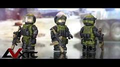Escape From Tarkov - BEAR VIP (AndrewVxtc) Tags: custom lego minifigure military contract wars game bear vip kriss vector andrewvxtc