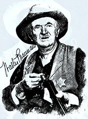 Walter Brennan (Bob Smerecki) Tags: smackman snapnpiks robert bob smerecki sports art digital artwork paintings illustrations graphics oils pastels pencil sketchings drawings virtual painter 6 watercolors smart photo editor colorization akvis sketch drawing concept designs gmx photopainter 28 draw hollywood walk fame high contrast images movie stars signatures autographs portraits people celebrities vintage today metamorphasis 002 abstract melting canvas baseball cards picture collage jixipix fauvism infrared photography colors
