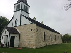 St Andrew's on the Red,Anglican Church (AdolfGalland) Tags: 18451849 built bank river red selkirk anglican church canada manitoba