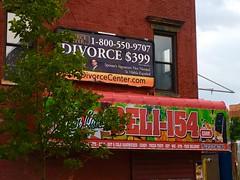 Divorce $399 - NYC (verplanck) Tags: uppermanhattan advertisement sign billboards nyc manhattan