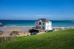 Arcadia  [Explore] (Eskling) Tags: portrush arcadia ballroom artgallery cafe beach sea sand sky blue northern ireland