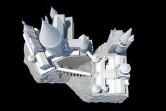 Hogwarts 2017 -  v1.0 Rendering (EZBSVS Studios) Tags: ezbsvs 3d printed hogwarts castle wanhao duplicator i3 monoprice maker select astronomy tower harry potter 3dsmax autodesk inventor simplify3d hatchbox pla usafilament