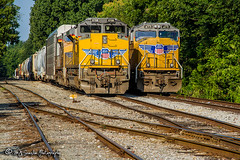 UP 8708 | EMD SD70ACe | UP 4771 | EMDSD70M | CSX Memphis Terminal Subdivision (M.J. Scanlon) Tags: csx csxt csxmemphisterminalsub q530 csxq530 qnlnv upqnlnv up unionpacific emd sd70m sd70ace up8708 up4771 digital transportation merchandise commerce business wow haul outdoor outdoors move mover moving scanlon canon eos unit engine locomotive rail railroad railway train track horsepower logistics railfanning steel wheels photo photography photographer photograph capture picture trains railfan memphis tennessee