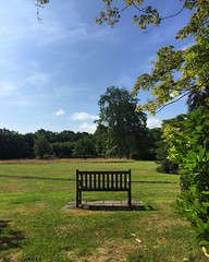 Garden Bench (Marc Sayce) Tags: garden bench gardens alice holt lodge forest hampshire wrecclesham farnham surrey south downs national park july summer 2017