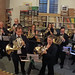 DSCN0127c Off-stage horns. Ealing Symphony Orchestra play the Alpine Symphony by Richard Strauss. Conductor John Gibbons. Leader Peter Nall. 15th July 2017 (Photo: Ben Bucknall)